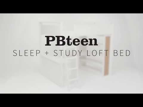 Sleep + Study® Loft Bed | PBteen