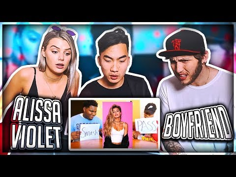 Thumbnail: BOYFRIEND REACTS TO PEOPLE WHO SMASH OR PASS ALISSA VIOLET