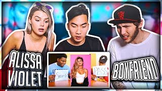 BOYFRIEND REACTS TO PEOPLE WHO SMASH OR PASS ALISSA VIOLET