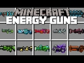 Minecraft ENERGY GUNS MOD / SHOOT DEATH RAYS AND SHRINKING GUNS!! Minecraft