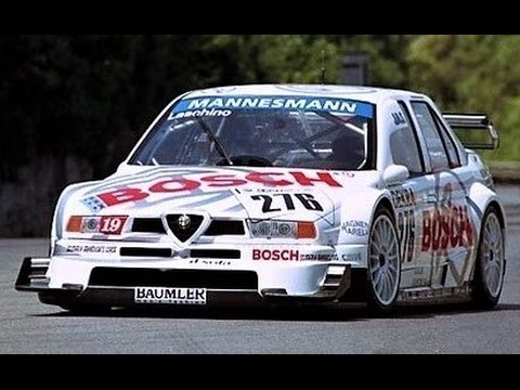 Alfa Romeo 155 V6 DTM // Italian Screaming Monster