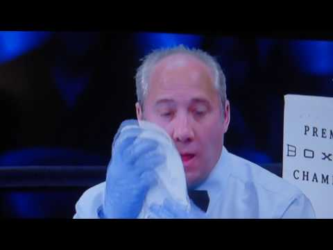 Referee gets punched in Premier Boxing Champions 6-18-16