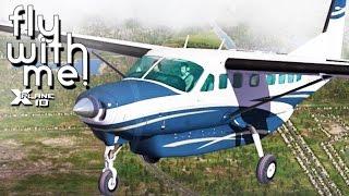 X-Plane 10 - Caravan to Fort Myers