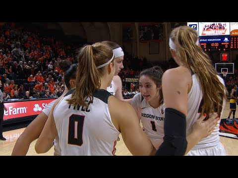 Oregon State Beavers - Pivec, Jones lead the Beavers past the Anteaters 86-57 in WNIT opener!