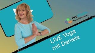 LIVE Yoga mit Daniela DI 07.07.20