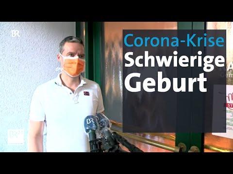 Schwanger In Der Corona-Krise: Väter Verpassen Die Geburt   Abendschau   BR24