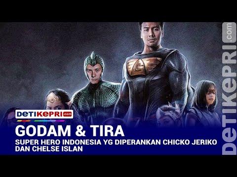 trailer-godam-&-tira-super-hero-indonesia-diperankan-chicko-jeriko-dan-chelse-islan-#detikepri.com