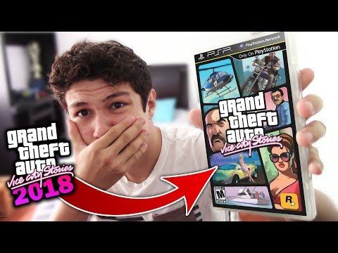 ASI ES JUGAR GTA VICE CITY STORIES EN 2018!! Grand Theft Auto VCS