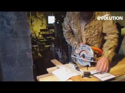 evolution-rage1-b-circular-saw-:-cutting-box-section-&-reclaimed-wood