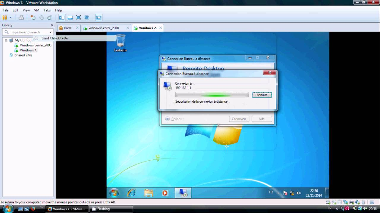 Activer le bureau a distance sous windows server 2008 - Activer le bureau a distance windows 7 ...