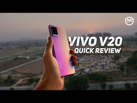 Vivo V20 Unboxing, Quick Review | Detailed Camera Test | Quick Comparison vs Nord, M51 [Hindi]