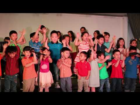 The meridian school Celebrating Christmas party