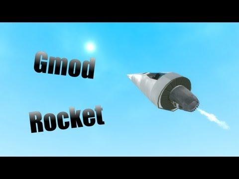 Garry's Mod-How To Make a Basic Rocket!!!