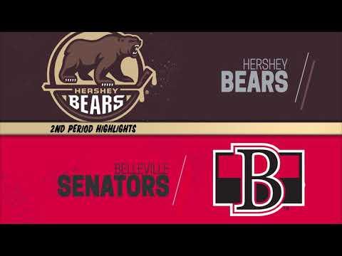 Belleville Senators 3 at Hershey Bears 1 11-30-2019