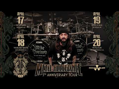 METAL ALLEGIANCE - 5th Anniversary Tour Mike Portnoy Invite (OFFICIAL TRAILER)