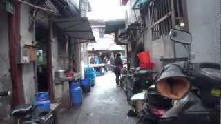 上海老街の路地裏散歩 / 2012年12月