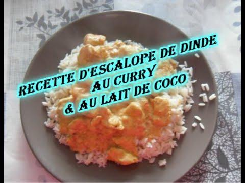 recette-d'escalope-de-dinde-au-curry-&-au-lait-de-coco