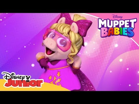 Super Fabulous Superhero Help! | Muppet Babies | Disney Channel Africa