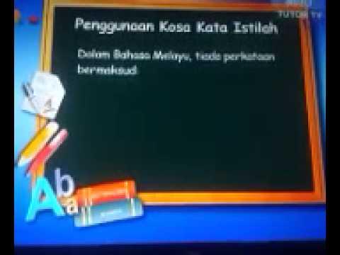 Upsr Terjemahan Bahasa Inggeris Ke Bahasa Melayu Youtube