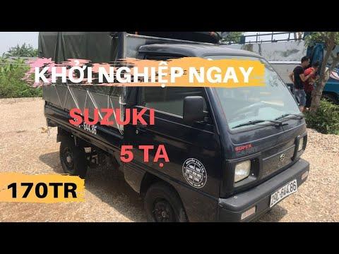 ✅Xe tải cũ SUZUKI 5 tạ Giá trị nhỏ lợi ích to  Hưng Duẩn Auto