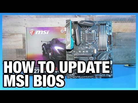 How To Update BIOS on an MSI Motherboard