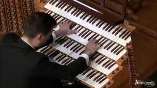 Passacaglia and Fugue in C Minor performed by Christopher Houlihan