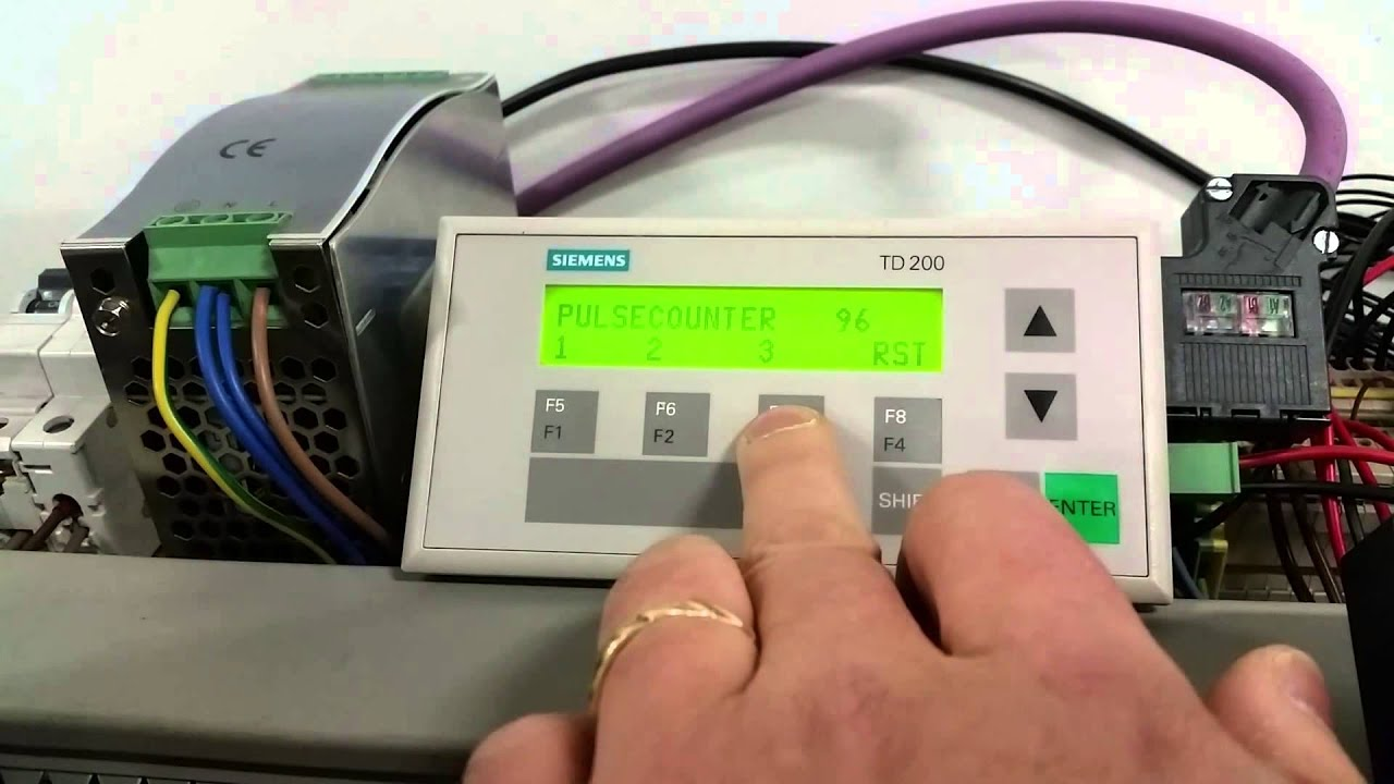 Elevator control with siemens td200 and s7 200 214 youtube sciox Image collections