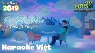 [Karaoke Việt + Beat] In The Rain - Yoon Jisung '윤지성' | Lời Việt #19 (60fps) (Special Project)