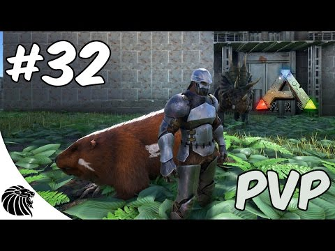 Ark Survival Evolved - MODS - O CASTOR NERVOSO 32 PVP