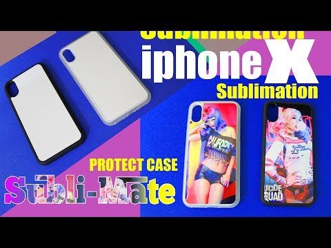 Subli-Mate® New Release DIY Sublimation printing Phone Case for iPhone 8 X