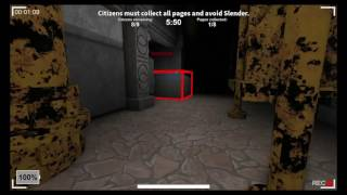 Lost To A Afk Slender!!! RoBlox Mini Game Slender EP[01]