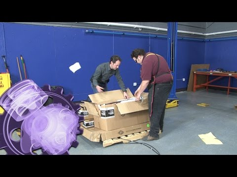 Unboxing an AFF 8893 Waste Oil Drain