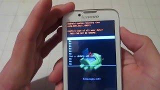 Hard Reset Lenovo A328 - Полный сброс Леново А328 - обходим пароли - Телефон Заблокирован