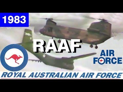 RAAF Royal Australian Airforce Display Sydney Australia 1983 Airshow