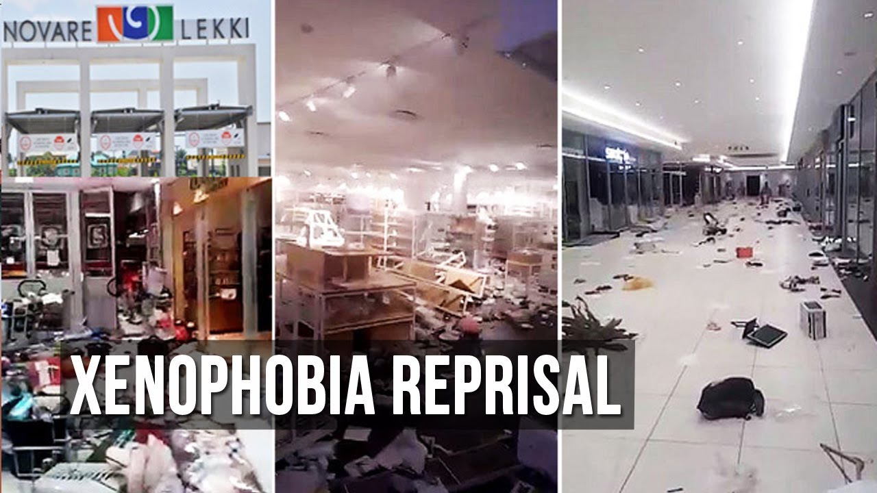 Video Shows Looting And Destruction At Lagos Mall