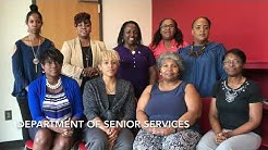 Customer Service Legend: Department of senior services