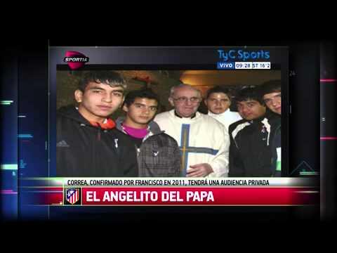 El Papa invitó a Correa a una audiencia privada