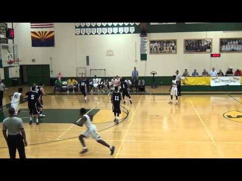 Central Arizona College Mike Nwabuzor Alley-Op Dunk