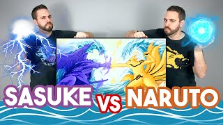FINAL BATTLE: Naruto 🆚 Sasuke l STATUE UNBOXING! l KM Studio