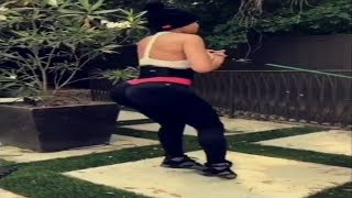 Blac Chyna workout secrets revealed! NATURAL model got her big booty from these secret exercises!