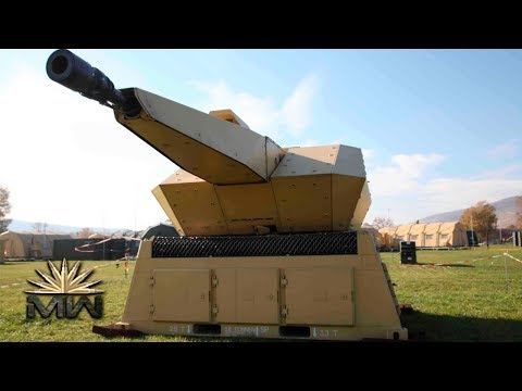 NBS MANTIS - German Air Defense Protection System [Review]
