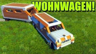 WOHNWAGEN! WIR FAHREN CAMPEN! - Scrap Mechanic #10   Ranzratte1337