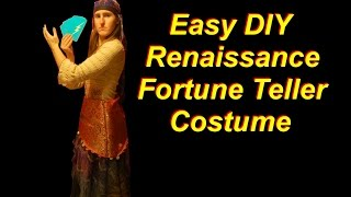 How to Make a Renaissance Fortune Teller Costume