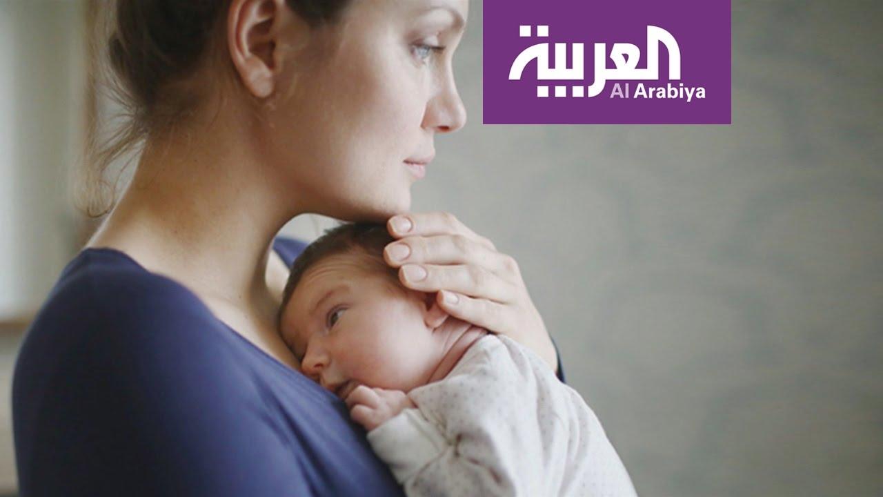 d2d1417b6869b صباح العربية   اكتئاب ما بعد الولادة - YouTube