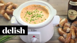 How To Make Game-day Beer Cheese Dip | Delish