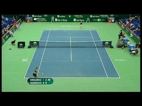 WTA Moscow 2010 Final Highlights