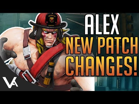 SFV - Alex 3.5 April Patch Notes Explained! Balance Changes For Street Fighter 5 Arcade Edition