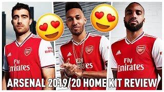 Arsenal 2019/20 Home Kit Review | (Frank & Bhav)