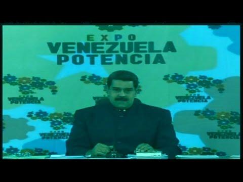 Presidente Maduro desde la Expo Venezuela Potencia 2017