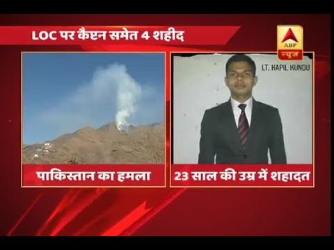 Four Army soldiers lost their lives & one injured in ceasefire violation by Pakistan